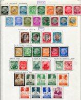 10894 ALLEMAGNE   Collection Vendue Par Page */°  Dont 513/21°/*  1933-34  TB - Verzamelingen