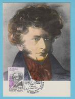 J.M. 22 - Carte Maximum Ou Carte Philatélique - Compositeur - N° 30 - H. BERLIOZ - Musique