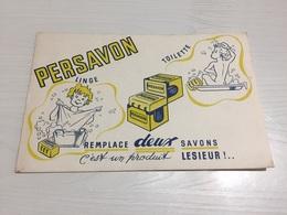 Buvard Ancien PERSAVON TOILETTE LINGE LESIEUR - Parfums & Beauté