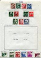 10895 ALLEMAGNE   Collection Vendue Par Page */°    1935  TB - Verzamelingen