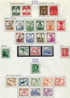 10896 ALLEMAGNE   Collection Vendue Par Page */°    1935-36  TB - Verzamelingen