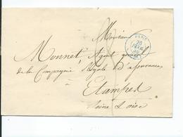 Lettre De Paris Pour Etampes 1840 - Marcophilie (Lettres)