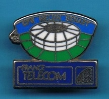 PIN'S //   ** FRANCE TELECOM // CFR /// MELUN / SENART ** . (Ballard) - France Telecom