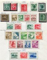 10898 ALLEMAGNE   Collection Vendue Par Page */°    1938-39  TB - Verzamelingen