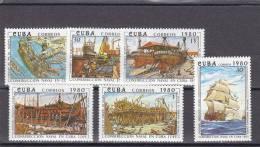 Cuba Nº 2208 Al 2213 - Cuba