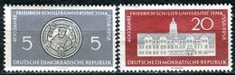 DDR - Mi 647 / 648 - ** Postfrisch (C) - 5-20Pf   Uni Jena - Unused Stamps