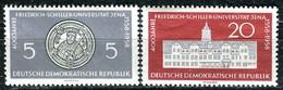 DDR - Mi 647 / 648 - ** Postfrisch (E) - 5-20Pf   Uni Jena - [6] Repubblica Democratica