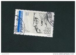 N° 2685 Jacques Prévert 1900 1977  Timbre  FRANCE  Oblitéré 1991 - Usati