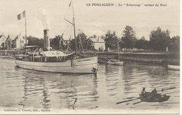44  LE  POULIGUEN    LE  SOLACROUP  SORTANT  SU  PORT - Le Pouliguen
