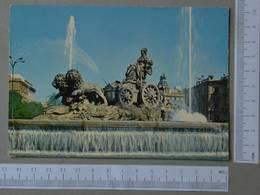 SPAIN - LA CIBELES -  MADRID -   2 SCANS  - (Nº27325) - Madrid