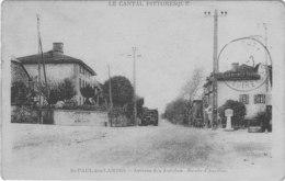 Saint Paul Des Landes  Arrivee Des Autobus Route D ' Aurillac - Autres Communes
