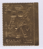 FUJEIRA AERIENS ** MNH Neuf Sans Charnière, 1 Valeur, TB (D8262) Timbre OR, Cosmos, Histoire De L'espace - 1970 - Fujeira