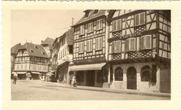 FRANCE  ( Alsace ) Obernai -Maisons Pittoresques Place Du Marché ( Format: 11.5 X7.5 ) - Lieux