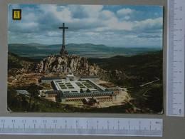 SPAIN - VISTA PANORAMICA -  VALLE DE LOS CAIDOS -   2 SCANS  - (Nº27328) - Madrid