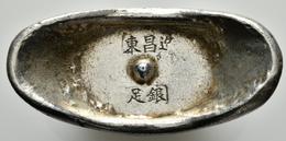 """China: Silver Sycee """"Shoe Money"""", 105,97 G, Vorzüglich. - Chine"""