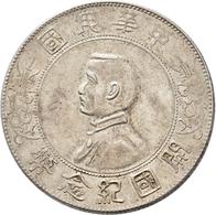 China: 1 Dollar ND (1927) Memento : Erinnerung Auf Gründung Der Republik China. Büte Präsident Sun Y - Chine