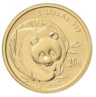 China - Volksrepublik - Anlagegold: 20 Yuan 2003, Goldpanda, KM# 1467, Friedberg B18. 1,56 G (1/20 O - Chine