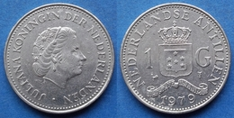 NETHERLANDS ANTILLES - 1 Gulden 1979 KM# 12 Juliana (1948-80) - Edelweiss Coins - Netherland Antilles