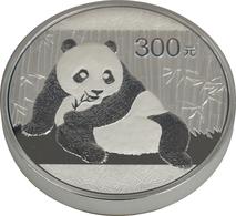 China - Volksrepublik: 300 Yuan 2015, Silber Panda, 1 Kg 999/1000 Silber. Inklusive Zertifikat, Etui - Chine