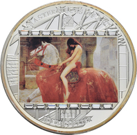 Cook Inseln: MASTERPIECES OF ART: Lady Godiva Von John Collier, 20 Dollars 2013, 3 OZ (93,3g), 999/1 - Cook