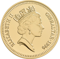 Gibraltar - Anlagegold: Elizabeth II. 1952 -,: 5 Pounds 1996. 70 Geburtstag Queen Elizabeth II. KM# - Gibraltar