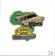 PIN'S Automobile - Camel Trophy 1991 / Tanzanie-Burundi. Estampillé Arthus Bertrand. Zamac. T470-24 - Rallye