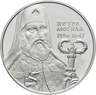 Ukraine: 10 Hryven / Griven 1996 Petro Mohyla (Mogyla). KM# 34. Polierte Platte. - Ukraine