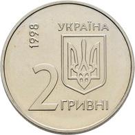 Ukraine: 2 Hryvni / Grivni 1998 EBRD Annual Meeting Kyiv May 1998 - European Bank Of Reconstruction - Ukraine
