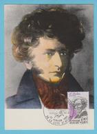 J.M. 22 - Carte Maximum Ou Carte Philatélique - Compositeur - N° 37 - H. BERLIOZ - Musique