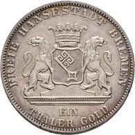 Medaillen Deutschland: 2. Deutsches Bundes Schießen 1862 In Bremen: Lot 2 Medaillen, Gedenktaler 186 - Germany
