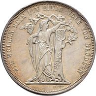 Medaillen Deutschland: 3. Deutsches Bundes-Schießen 1868 In Wien: Feintaler 1868 (v. Seidan), 33 Mm, - Allemagne