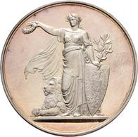 Medaillen Deutschland: 5. Deutsches Bundes-Schießen 1875 In Stuttgart: Lot 2 Medaillen; Silbermedail - Allemagne