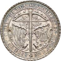 Medaillen Deutschland: 7. Deutsches Bundes-Schießen 1881 In München: Silbermedaille 1881 Von O. Hupp - Allemagne