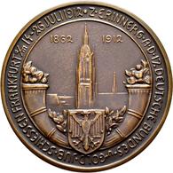 Medaillen Deutschland: 17. Deutsches Bundes-Schießen 1912 In Frankfurt A.M.: Lot 5 Medaillen; Goldme - Allemagne