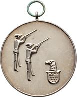 Medaillen Deutschland: 19. Deutsches Bundes-Schießen 1930 In Köln: Lot 4 Medaillen; Silbermedaille 1 - Allemagne