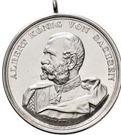 Medaillen Deutschland: Chemnitz: Silbermedaille 1895, Stempel Von Karl Schäfer, Geprägt Bei Mayer & - Allemagne