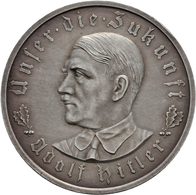 Medaillen Deutschland: Drittes Reich 1933-1945: Silbermedaille 1933, Unsigniert (Glöckler), Auf Die - Allemagne