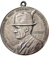 Medaillen Deutschland: Göppingen: Silbermedaille 1925, Auf Die Einweihung Des Neuen Schützenhauses. - Allemagne
