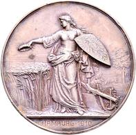 Medaillen Deutschland: Hamburg: Lot 2 Stück; Bronzene Prämienmedaille O.J. (Gravur 1910) Von Karl Sc - Allemagne