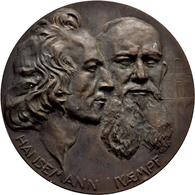 Medaillen Deutschland: Heidelberg:Bronzegussmedaille 1911, Von Klinger, Auf Die 50-Jahrfeier Des Ers - Allemagne