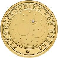 Medaillen Deutschland: Himmelsscheibe Von Nebra: 3,5 G 999/1000 Medaille Mit Dem Motiv Der Himmelssc - Allemagne