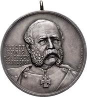 Medaillen Deutschland: Leipzig, Silbermedaille 1898 Von Lehnert, Geprägt Bei Mayer & Wilhelm, Stuttg - Allemagne