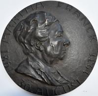 Medaillen Deutschland: Ludwigsburg/Württemberg: Set Von 2 Dunkel Patinierten Hochrelief-Bronzegusspl - Allemagne