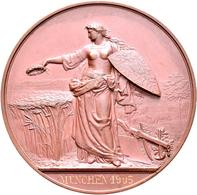 Medaillen Deutschland: München: Bronzene Prämienmedaille O.J. (Gravur 1905) Von Karl Schwenzer, Der - Allemagne