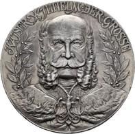 Medaillen Deutschland: Preussen, Wilhelm I. 1861-1888: Zinnmedaille 1897, Von Dürrich, Geprägte Bei - Allemagne