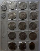 China - Volksrepublik: Lot 22 Münzen Aus Der Volksrepublik, überwiegend 1 Yuan 1984-1990. Dabei Auch - Chine