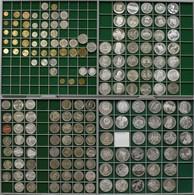 Bulgarien: Über 100 Gedenkmünzen Sowie Einige Kleinmünzen (Umlaufmünzen) Aus Den Jahren 1950-1999. E - Bulgarie