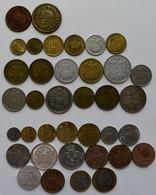Monaco: Lot 37 Diverse Münzen Aus Monaco, Dabei 2 Münzen Von Honore V. (1837/1838), 18 Münzen 1924-1 - Monaco