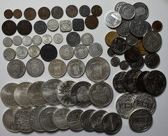 Niederlande: Lot Diverser Münzen Aus Holland Ab 1900. Von Kleinmünzen 1/2 Cent Bis 25 Cent über Gede - [ 2] 1795-1814 : Napoleonic And French Protectorate/Domination