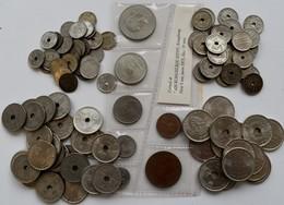 Norwegen: Haakon VII. 1905-1957: Lot Kleinmünzen Aus Norwegen, Dabei: 31 X 10 Öre (øre) 1899-1952; 2 - Norvège